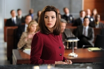 """Last Shot""--Alicia Florrick (Julianna Margulies) assists in the trial of ballistics expert Kurt McVeigh, Diane's on and off-again love interest, who is being sued for testimony that he gave in a murder trial of an accused cop killer who was recently exonerated, on THE GOOD WIFE, Tuesday, Feb. 22 (10:00-11:00 PM, ET/PT) on the CBS Television Network. Photo: David M. Russell/CBS ©2011 CBS Broadcasting Inc. All Rights Reserved."